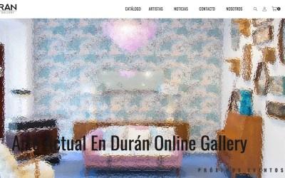 Durán Online Gallery, creada para los nuevos coleccionistas