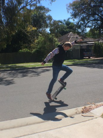 Let's try an ollie!