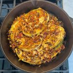 loaded cabbage steaks recipe