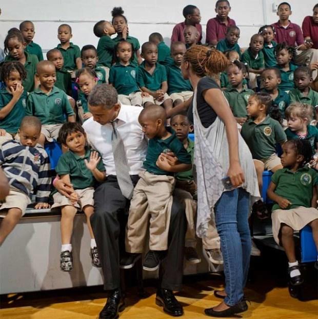 Obama role model