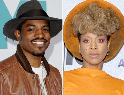 ERYKAH BADU AND ANDRE