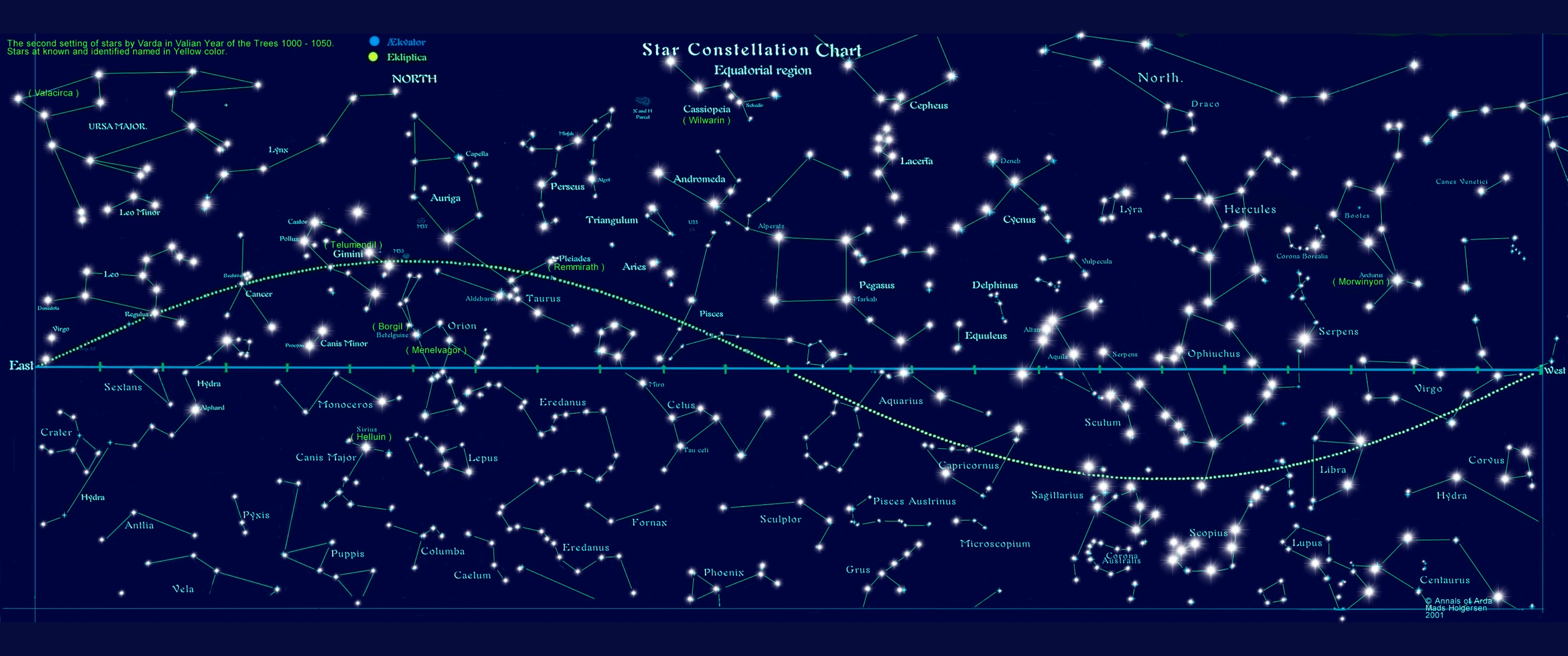 I Found A Neat Picture About 88 Constellations