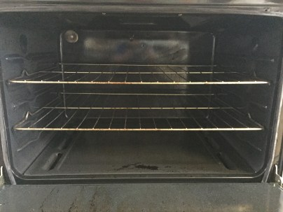 Such a clean oven!