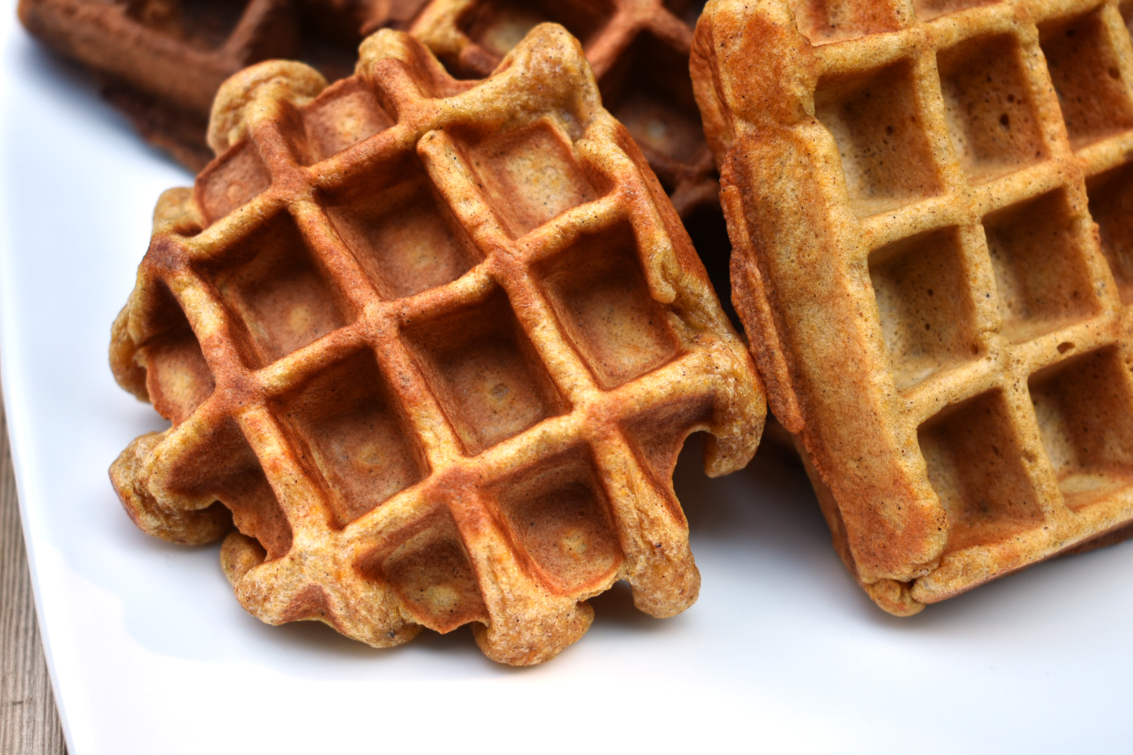 Sweet and Savory Sweet Potato Waffles