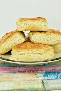 Light and Fluffy Honey Butter Biscuits