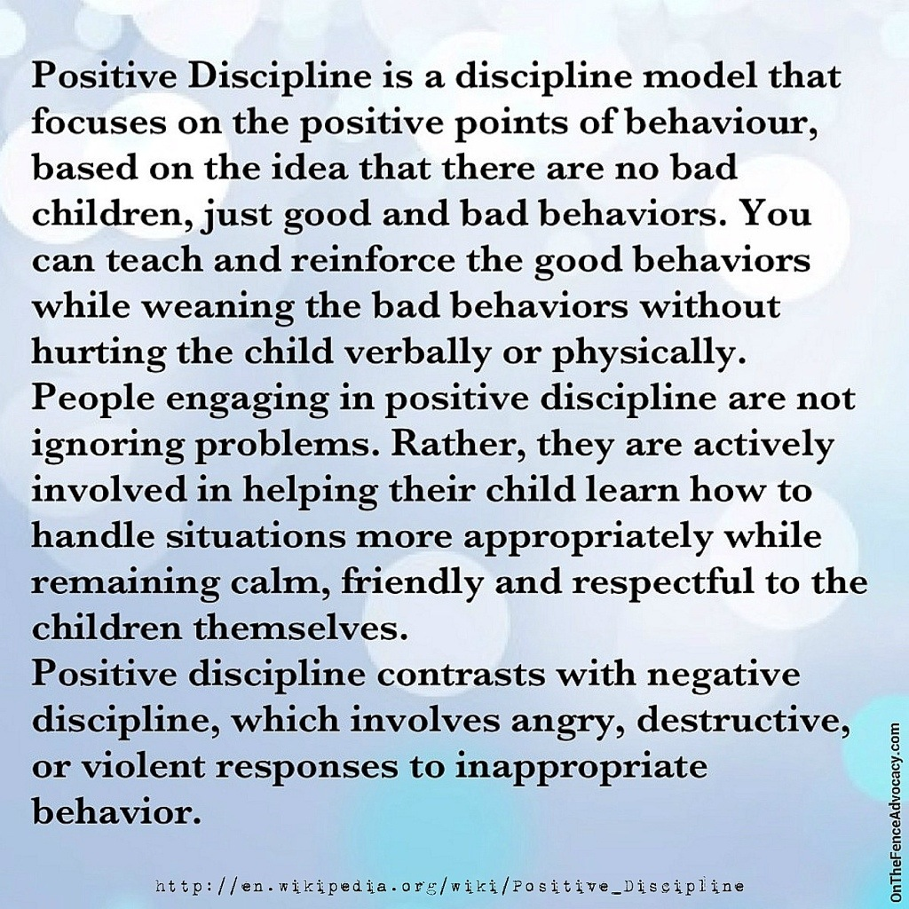 What Is Positive Discipline