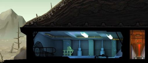 Fallout Shelter Vault Door
