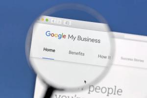 google my business URL