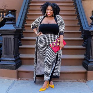 It's All About Houndstooth! (Plus Size Edition)
