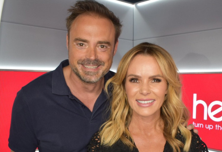 Jamie Theakston and Amanda Holden launch new Heart breakfast show
