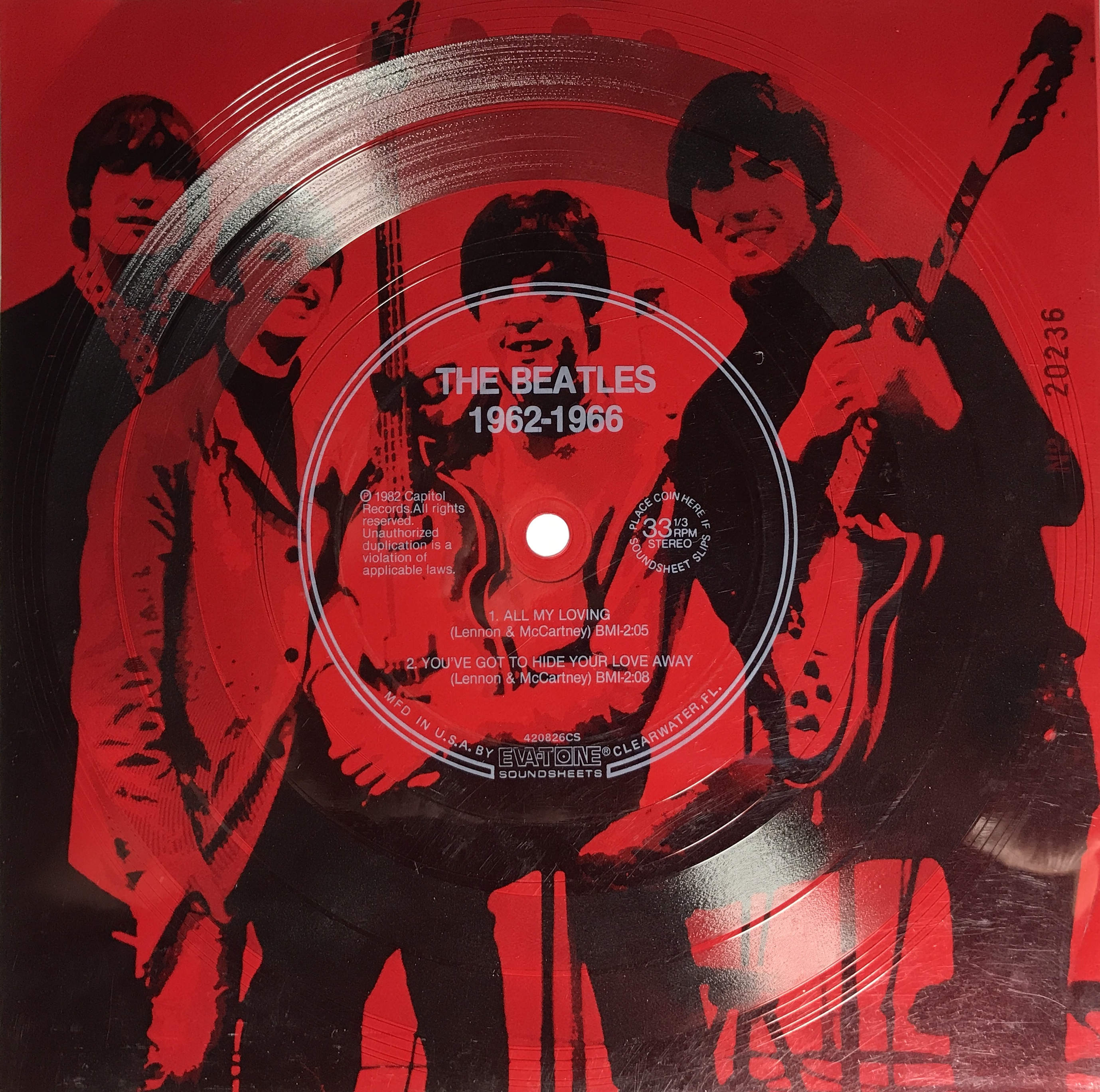Beatles…Picture Sleeves