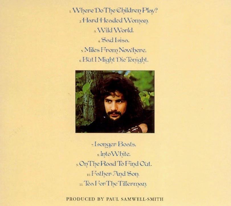 Cat Stevens…Best Albums – On The Records