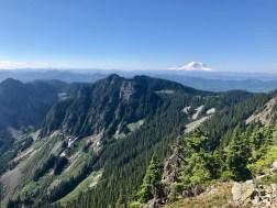 Rainier views from the summit