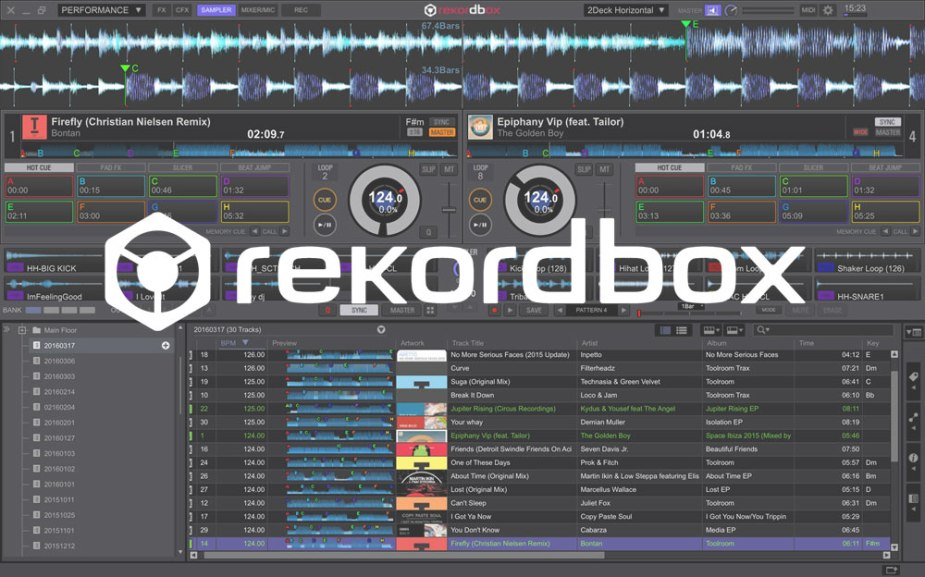 Rekordbox update Ver  4 2 3 (+4 2 4 fix) inc Mac OSX Sierra support