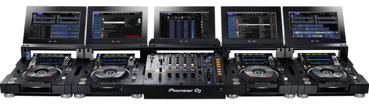 Pioneer CDJ-TOUR1 Tour System Multi-Player and Pioneer DJM-TOUR1 Tour System Digital Mixer Package