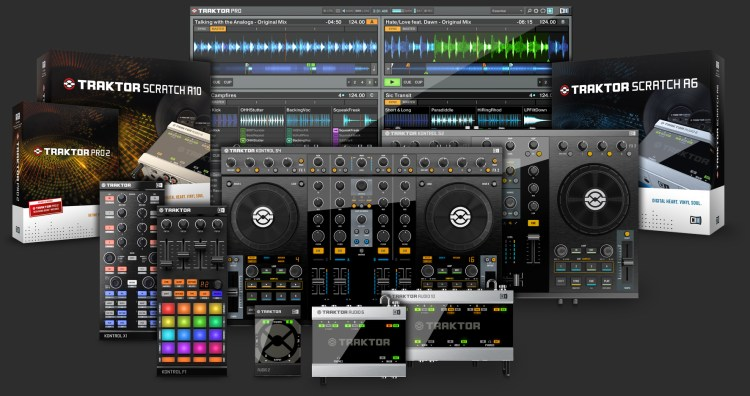 Traktor Native Instruments Family