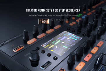 TRAKTOR launches custom Step Sequencer content with Pan-Pot video