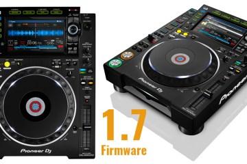 Pioneer CDJ-2000NXS2 1.7 Firmware Update