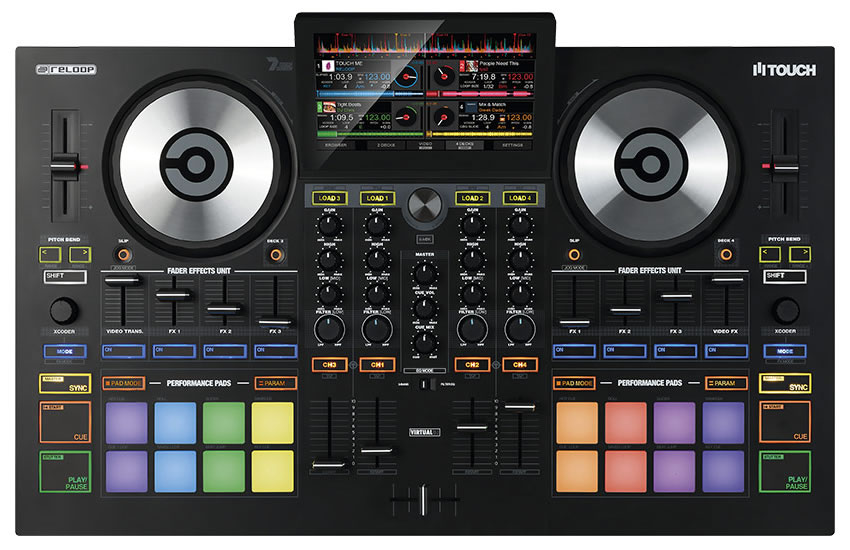 Reloop Touch Controller for Virtual DJ - On The Rise DJ Academy