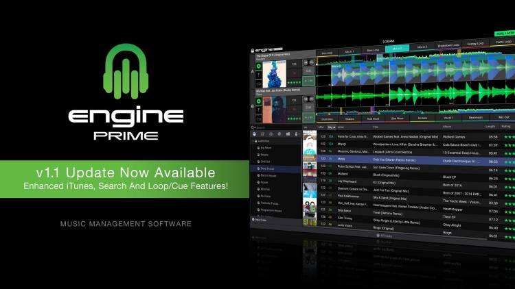Denon Dj Engine Prime update v1.1