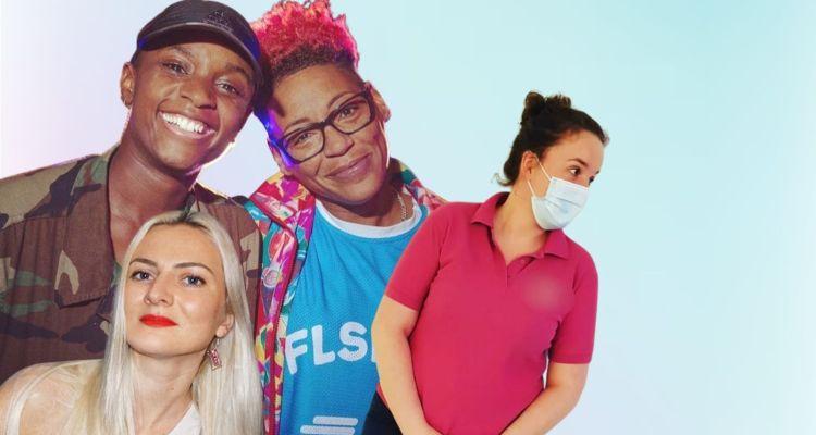 MC Chickaboo, Sherelle, Lex on the decks, DJ Sweetpea