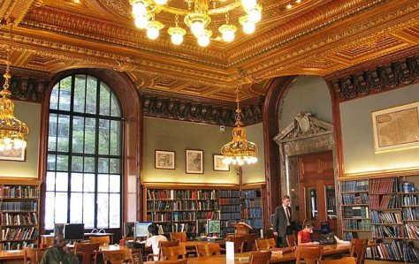NYPL Map Room