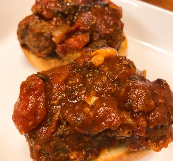 Meatball Sandwich Recipe Easy Meatball Recipe