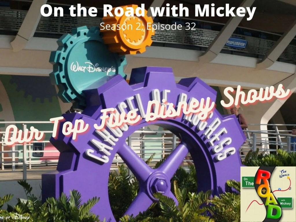 Top Five Disney Shows