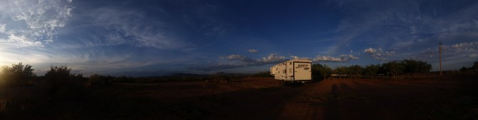 our spot in Tularosa, NM