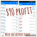 Fusion Trader One Week Results