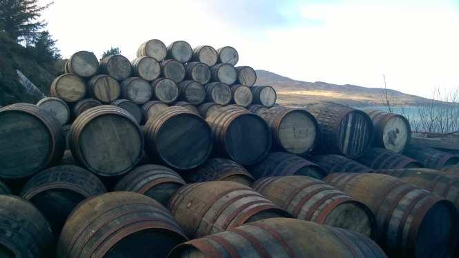 Whisky Barrells