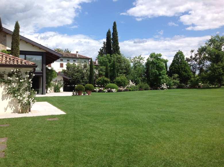 Grappa distillery grounds