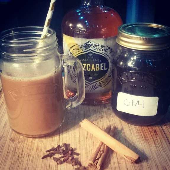 Honey Tequila Chai Latte