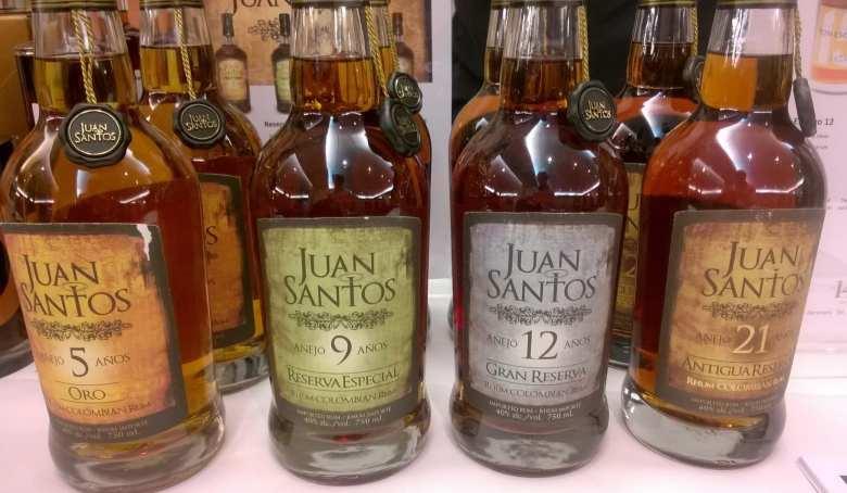 dark rum selection