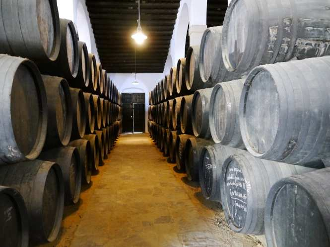 barrels sherry