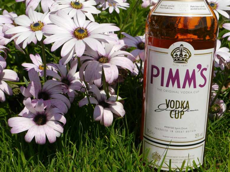 Vodka Pimms Cup