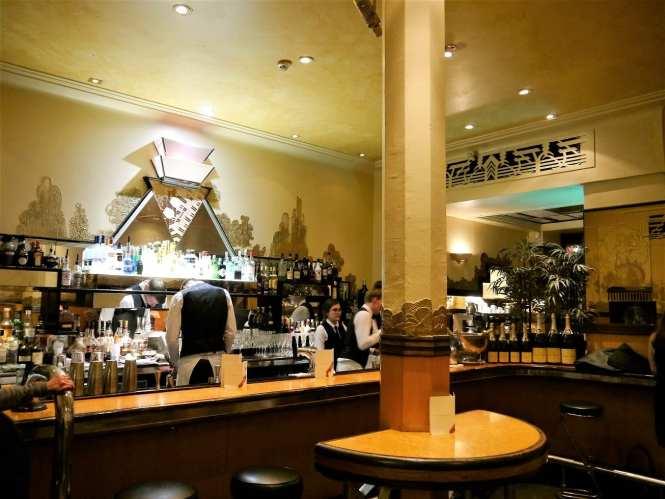 Art Deco at Rogano Glasgow
