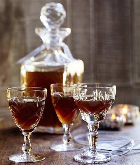 Christmas pudding vodka