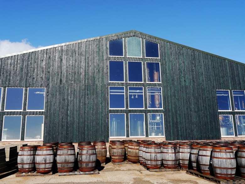 Arbikie distillery building