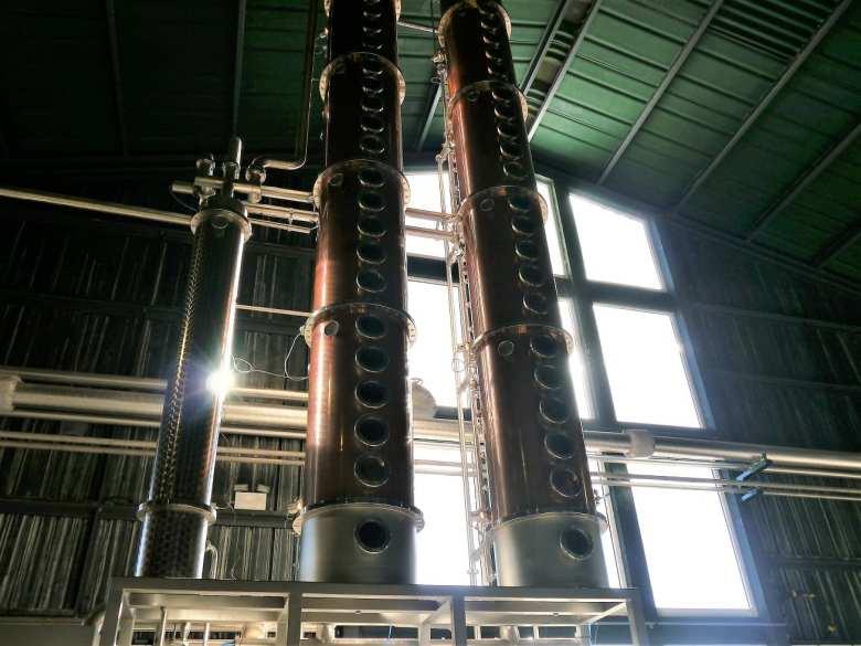 Columns at Arbikie