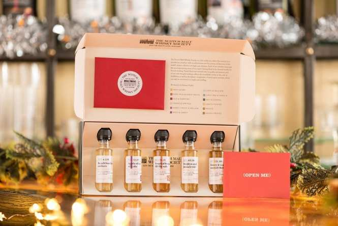 SMWS whisky tasting set