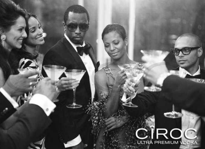 ciroc vodka with celebs