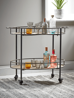 industrial drink trolley
