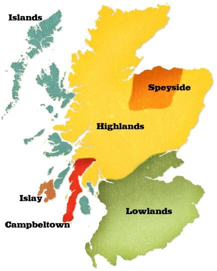 whisky-region-map