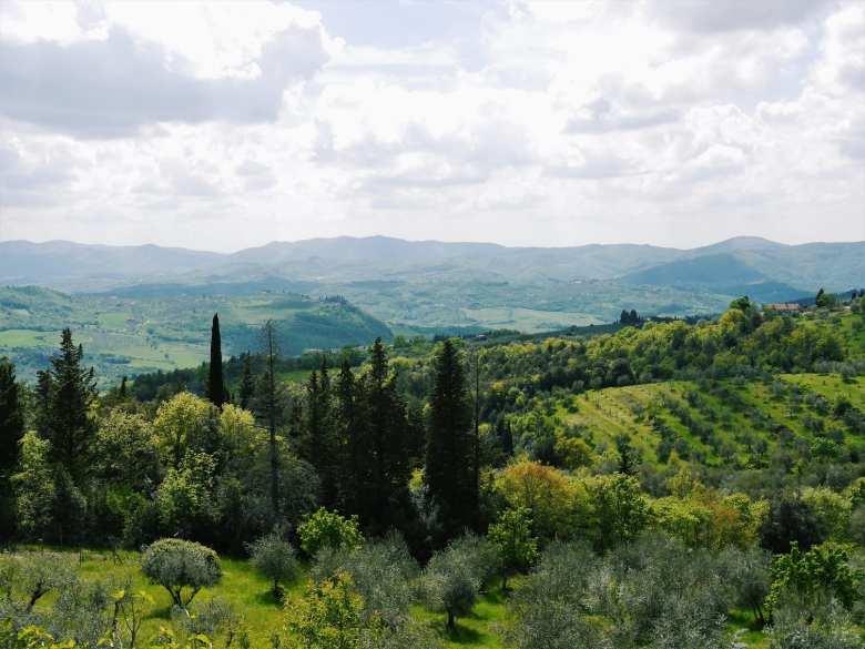 Beautiful Tuscan views