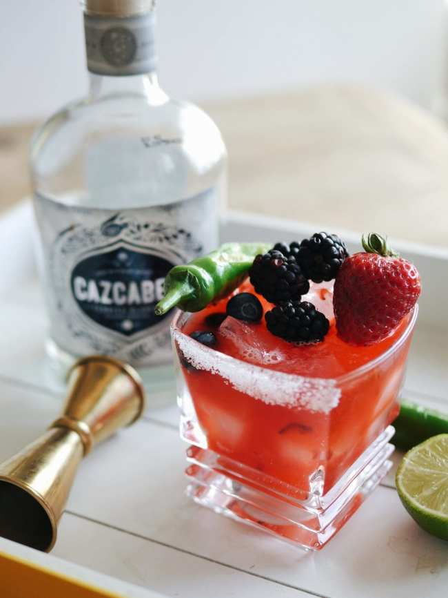 Triple Berry Margarita