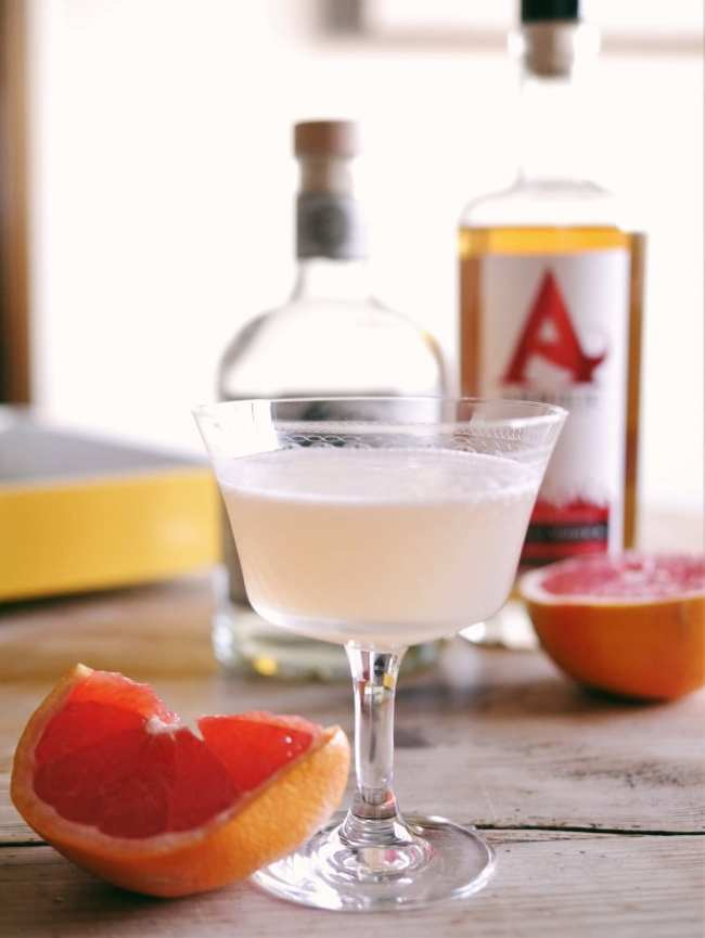 Smoky Pink Grapefruit Margarita
