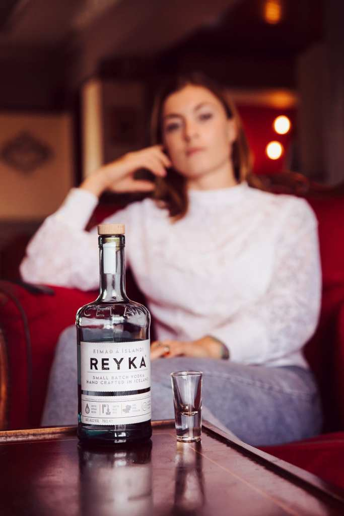 Reyka vodka bottle