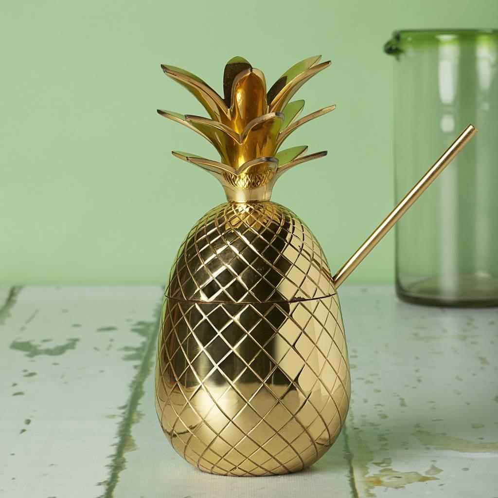 pineapple glass