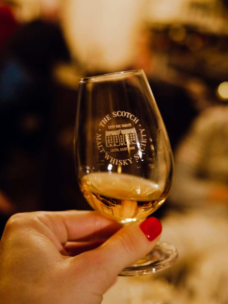 whisky dram by SMWS